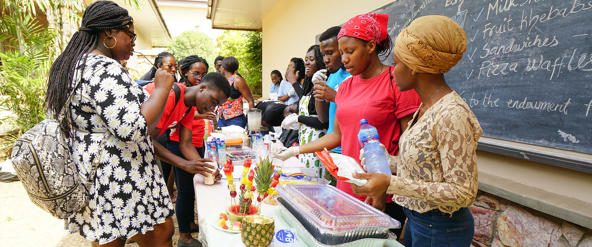 <p>Experience life at Ashesi through our blog on Medium</p>