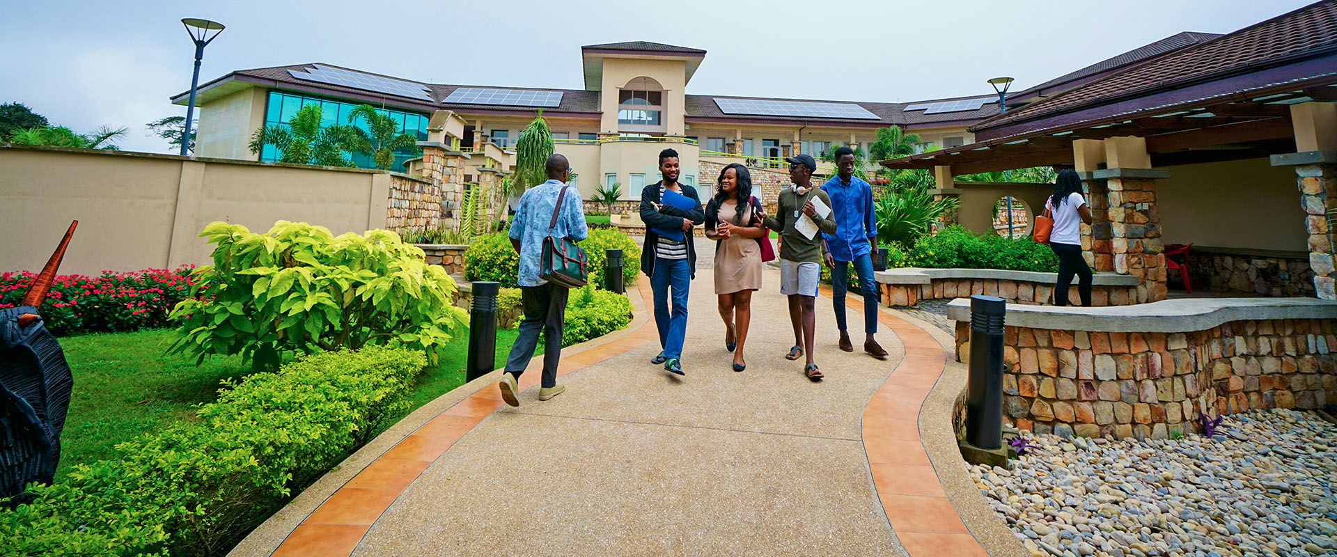 <p>See photos of life and people on campus with the hashtag, #atAshesi</p>